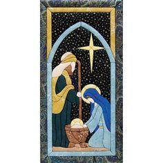 Mary Maxim - Nativity Scene Quilt Magic Kit