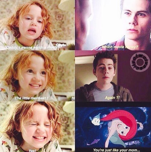 family, lydia, and stiles afbeelding