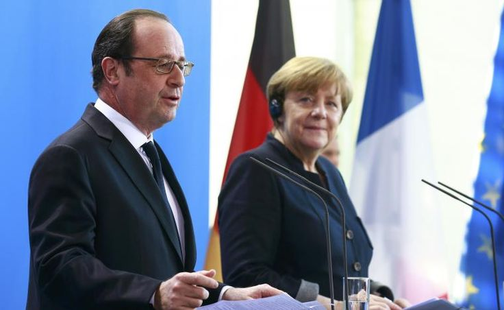 Merkel, Hollande call for European unity in face of big challenges | Reuters