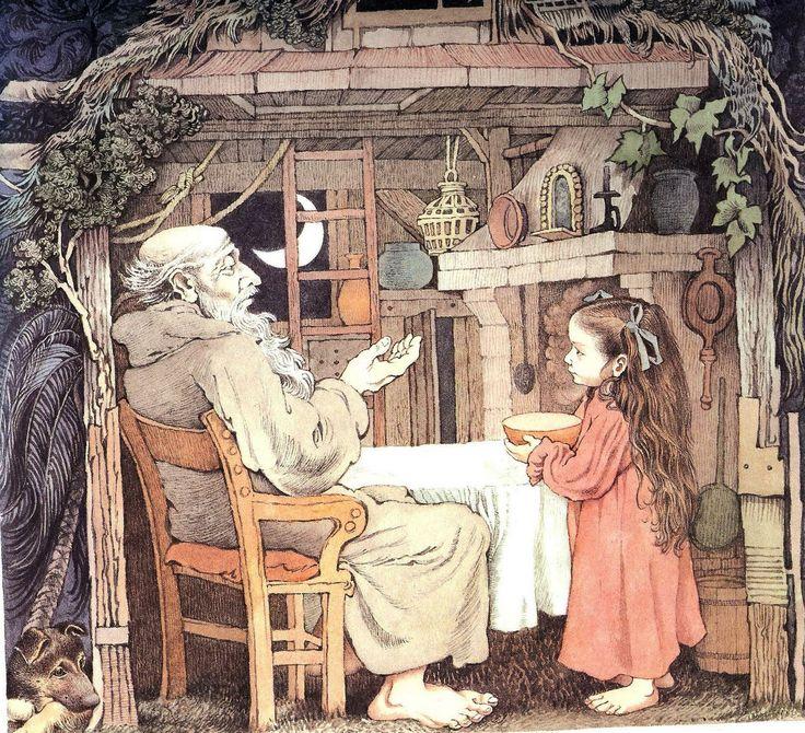 "Illustration by Maurice Sendak from the children's story, ""Dear Millie""."