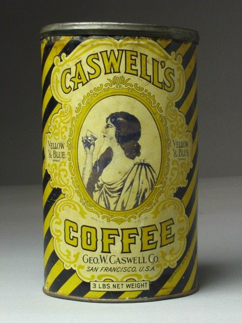 Caswell's Coffee vintage can