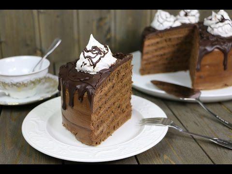 Шоколадный торт на сковороде | Pechemdoma.com