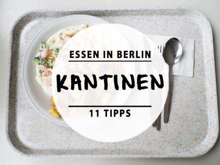 Berlin canteens.