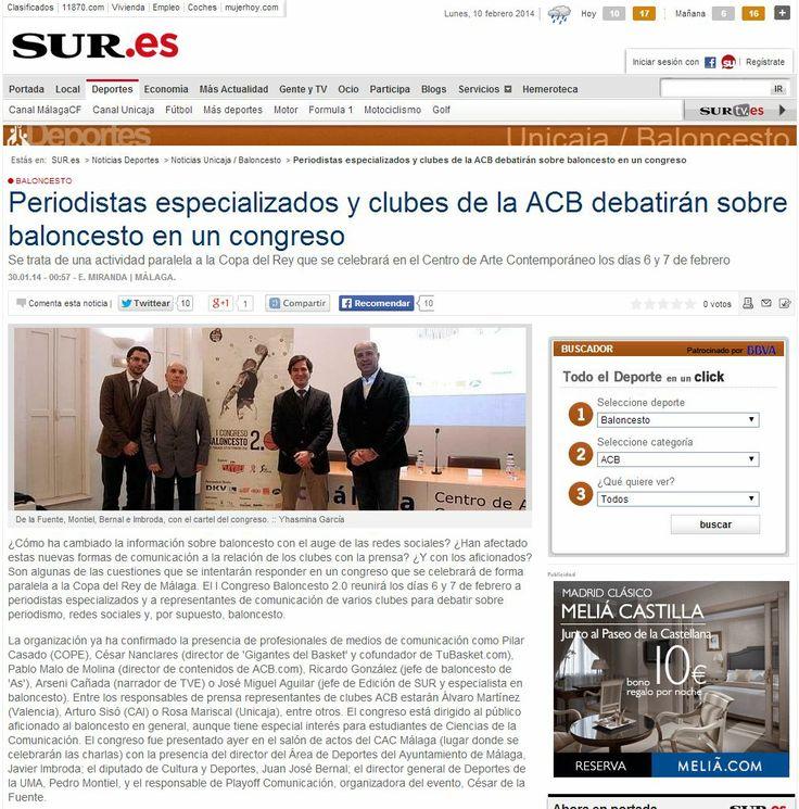 Cobertura de los compañeros del Diario Sur. http://bit.ly/1pJiqnS