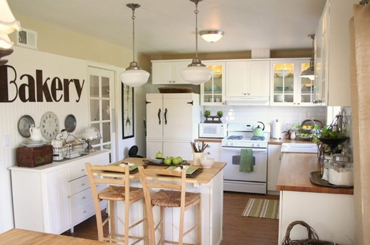Small Kitchen Island With Seating