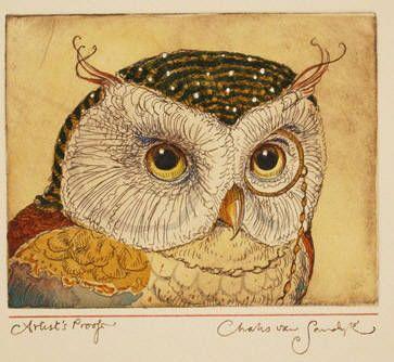 charles van sandwykAuthor Charles, Vans Sandwyk, Hoot Owls, Birdsowl Parliament, Charles Vans, Wise Owls, Noel Vans, Charles Noel, Owls Illustration