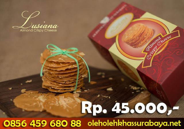 Almond Crispy Cheese Surabaya Online Lusiana, almond Crispy di Surabaya,
