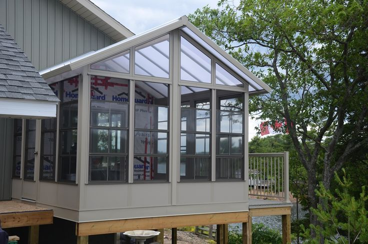 A Brand new sunroom with insulated roof and insulated flooring- Another beautiful sunroom from Sunspace brought to life by our installers at Porch to Pier