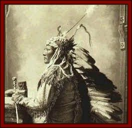Chief Rain in the Face: He once suffered a great humiliation at the hands of Capt. Tom Custer, brother of Gen. George Custer. He swore vengeance and said that one day he would cut out Tom Custer's heart. Rain-in-the-Face had to wait two years to make good on his threat, but on June 25, 1876, at the Battle of Little Bighorn he had his day.