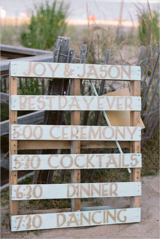 #woodpallet #weddingsign @weddingchicks