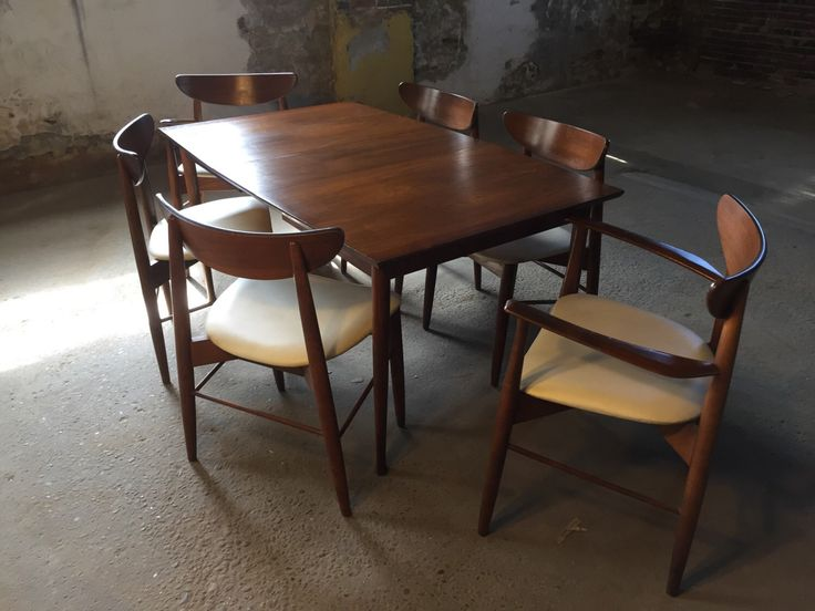 17 best ideas about Mid Century Dining Set – Mid Century Dining Room Table
