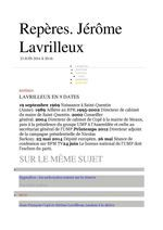 GAYRAUD DOMINQUE DATES reperes JEROME LAVRILLEUX  #DGAYRAUD
