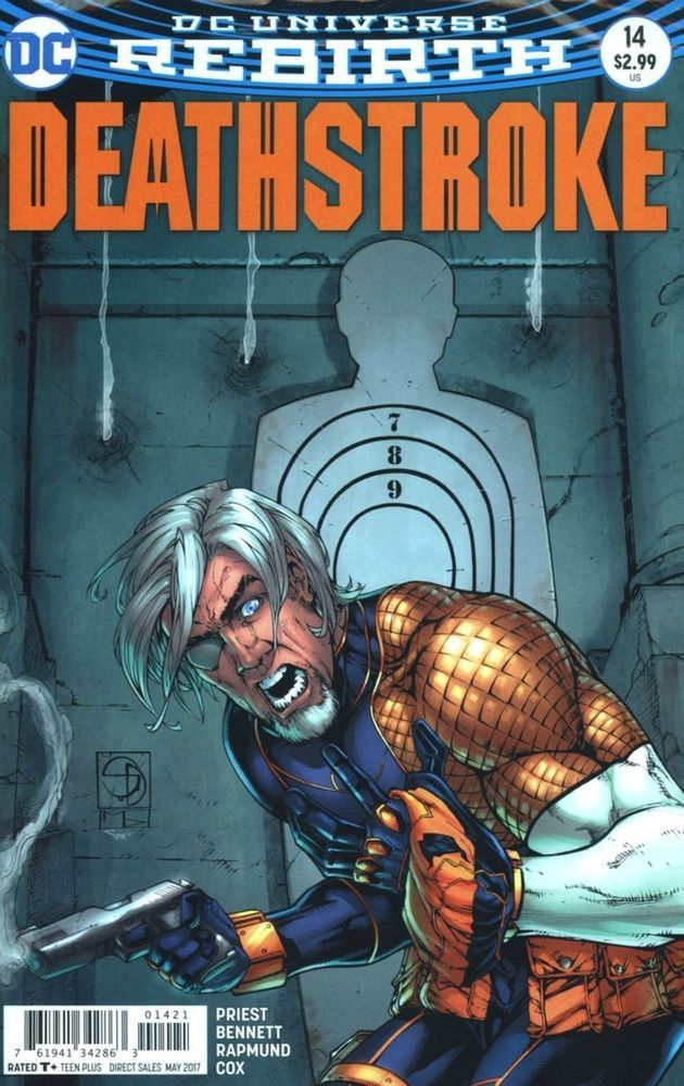 DC Rebirth Deathstroke comic issue 14 Limited variant