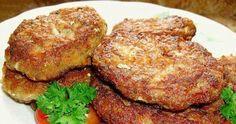Рыбные котлеты в духовке. Диетический рецепт приготовления котлет из рыбного фарша. Блюдо рекомендовано для диетического стола и здорового питания.
