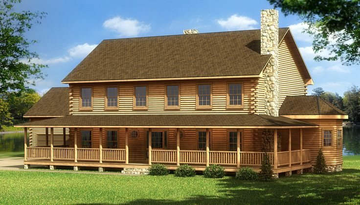 Southland Log Homes Manufacturer Cumberland Log Home