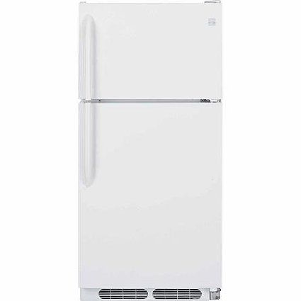Kenmore 60302 14.8 cu. ft. Frost Free Top Freezer Refrigerator - White, 2016 Amazon Top Rated Refrigerators  #Appliances