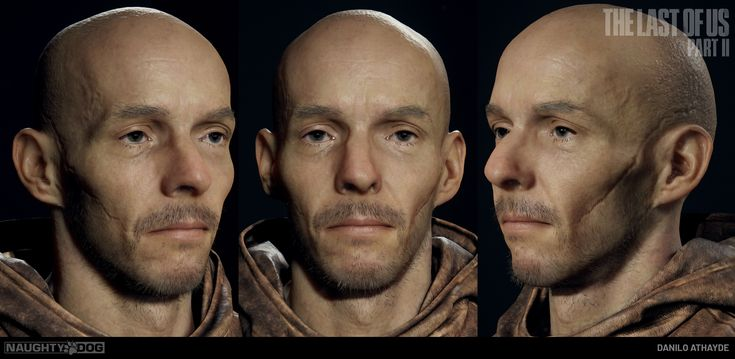 ArtStation - NPC`s Head, Danilo Athayde In 2020