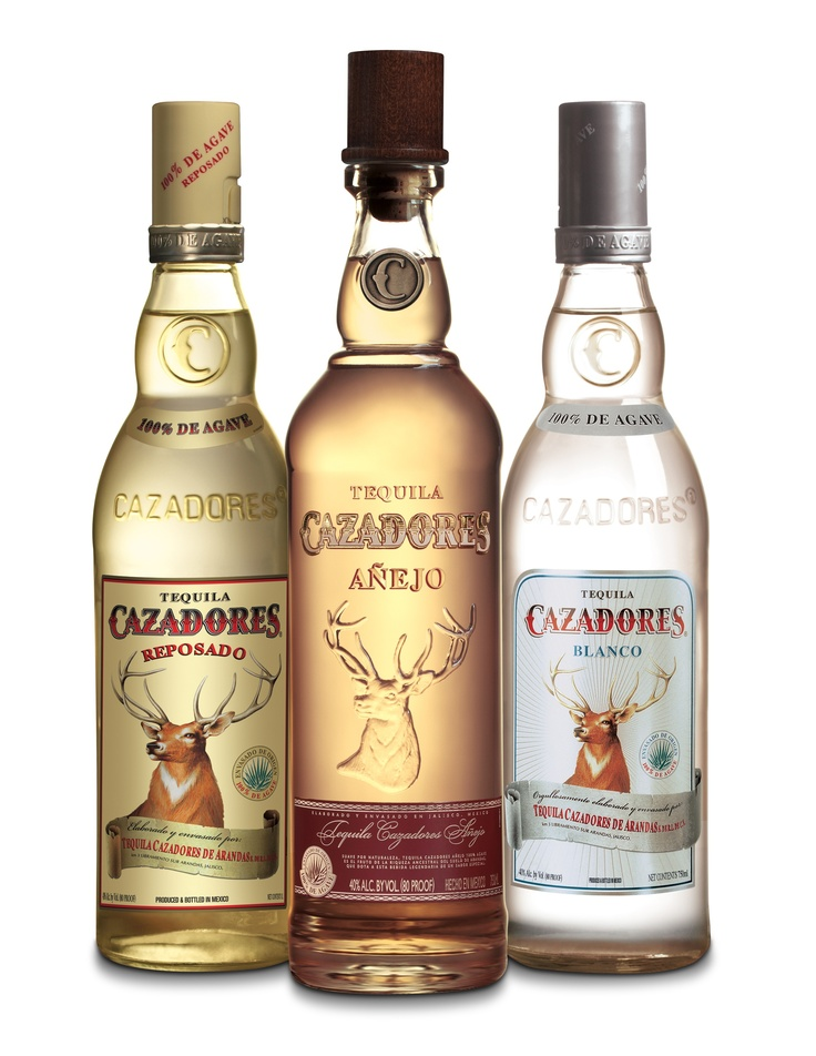 Cazadores Tequila: Reposado, Anejo & Bianco - pair any of these with a recipe of Malone's and you've got yourself a gathering! ♥