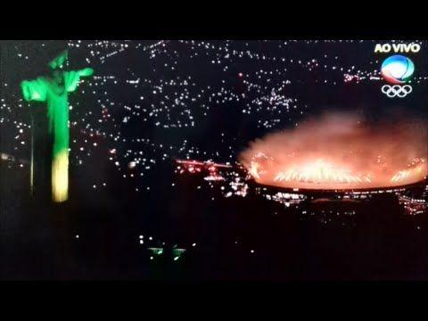 ESPETÁCULO;ABERTURA DAS OLIMPÍADAS NO RIO 2016.