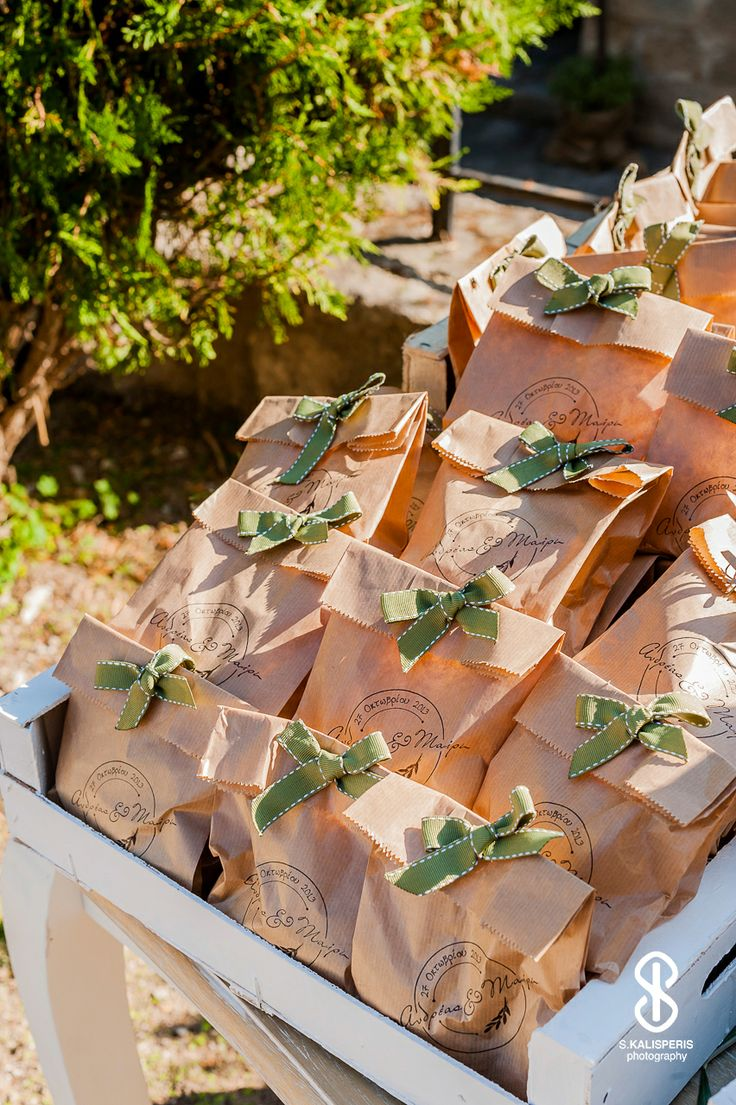 Handmade wedding favours designed by eventions