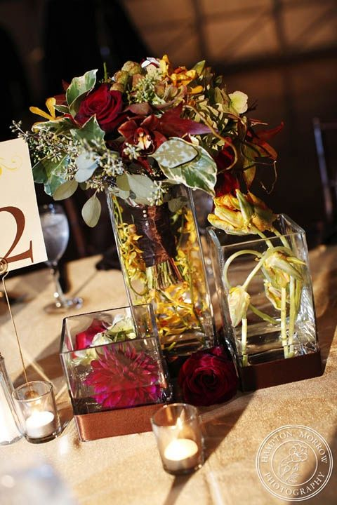 Fall Wedding Reception Centerpieces Ideas