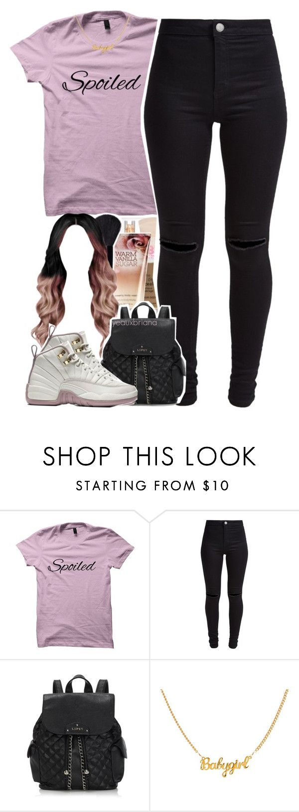"""""""through the wire // kanye west"""" by yeauxbriana ❤ liked on Polyvore featuring New Look and Lipsy"""