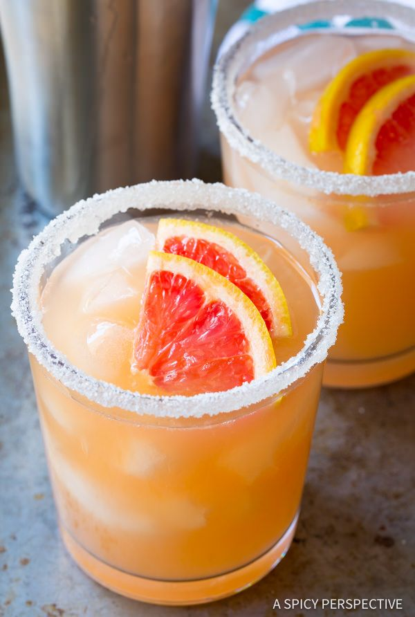 Pink Grapefruit Margarita