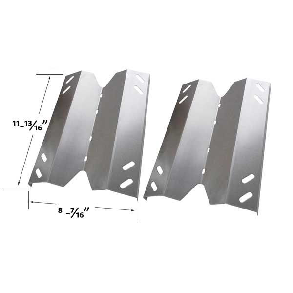 REPLACEMENT 2 PACK STAINLESS STEEL HEAT SHIELD FOR MEMBERS MARK B10PG20-2C, B10PG20-2R, GR2001402-MM-00, GR3055-014571 GAS MODELS Fits Compatible Member's Mark Models : B10PG20-2C, B10PG20-2R, GR2001402-MM-00, GR3055-014571 Read More @http://www.grillpartszone.com/shopexd.asp?id=35772&sid=36677