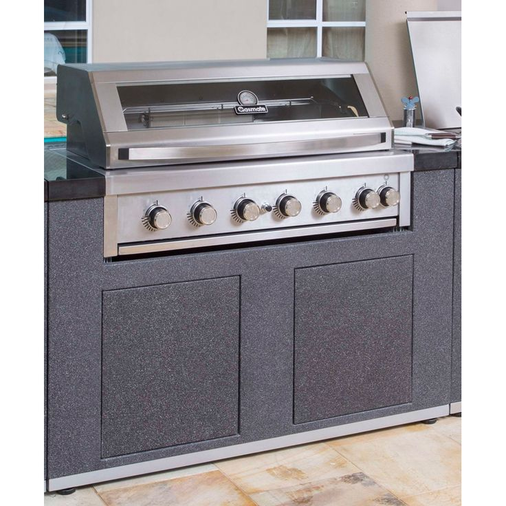 Platinum II Islands are specifically designed to fit the Platinum II series BBQ Platinum II islands provide a modern alternative to an outdoor kitchen build
