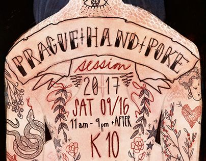 "Check out new work on my @Behance portfolio: ""Prague Hand Poke Session 2017 Poster"" http://be.net/gallery/54513423/Prague-Hand-Poke-Session-2017-Poster"