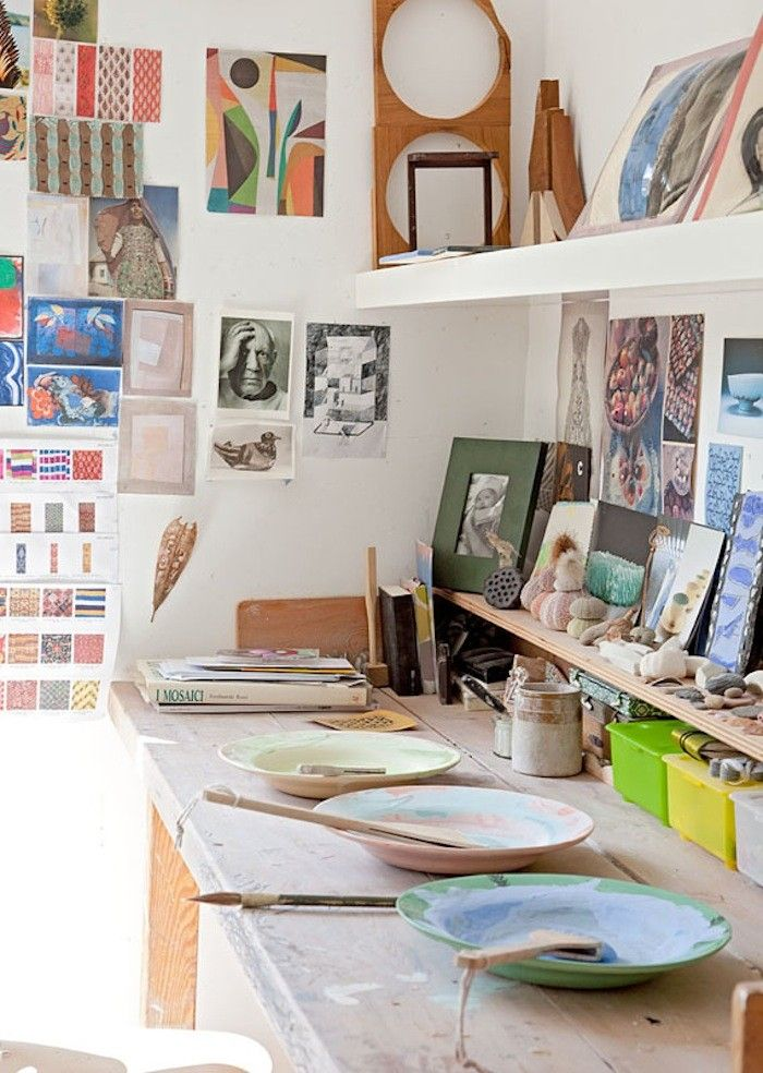 Lucy Dunce Scottish Ceramicist in Ediinburgh Colorful