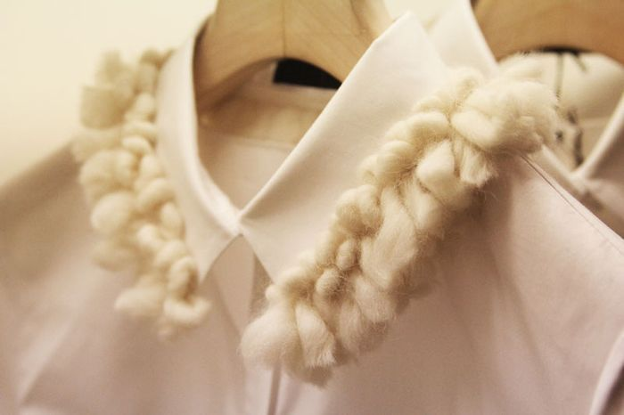 Embellished/Peter pan collars, I can't live without these :)