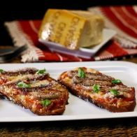 Receita: Bruschettas de Carapau - SAPO Sabores