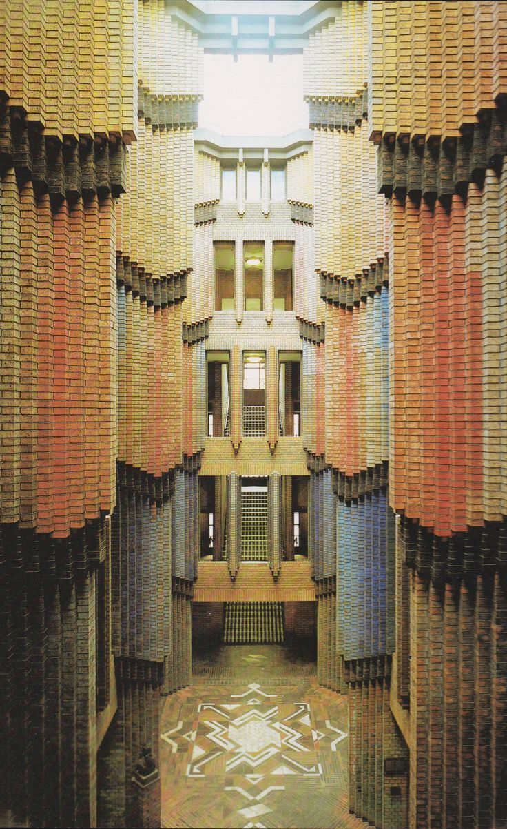 Peter Behrens, Hoechst AG Technical Administrative Building, Germany. 1924.