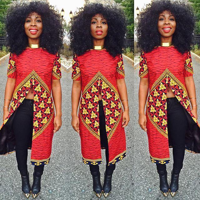 Opan ghana style dress