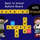 Are you trying to come up with a new idea for your back to school bulletin board?                   Here is your answer!    Create a Words With Fri...
