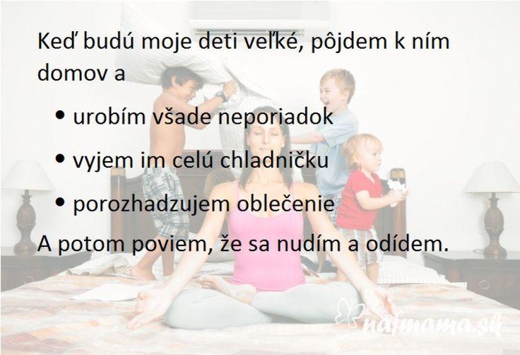 Deťom: Až vyrastiete | Najmama.sk