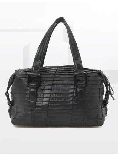 CK By Calvin Klein Pleats Bag - Black