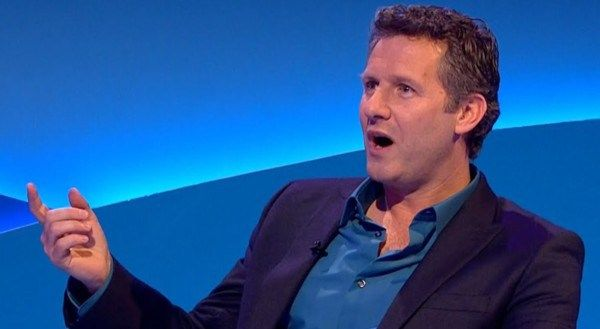 Not one of his better moments: Adam Hills hosts The Last Leg, whose segment on Iain Duncan Smith and the incapacity benefit deaths lost its footing.