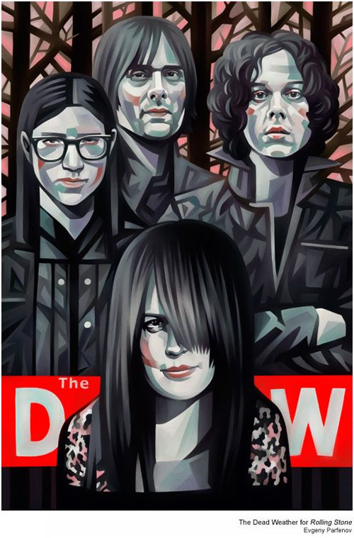The Dead Weather 4 Rolling Stone by Evgeny Parfenov, Rusia.