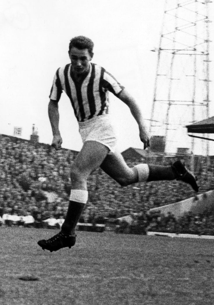 Brian Clough--- was a prolific goalscorer with Middlesbrough and Sunderland, scoring 251 league goals from 274 starts. He also won 2 England caps, both in 1959. Clough retired from playing at the age of 29, after sustaining anterior cruciate ligament damage. He remains one of the Football League's HIGHEST goalscorers!!