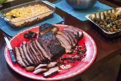 Beef brisket is a staple for any barbecue because it is a versatile and inexpensive cut of beef. A roaster will cook your brisket in a similar time frame and manner as using a roaster pan in your regular oven, and many roasters have a nonstick liner that can be removed and cleaned, which makes cleanup a breeze. Many home cooks also prefer electric...