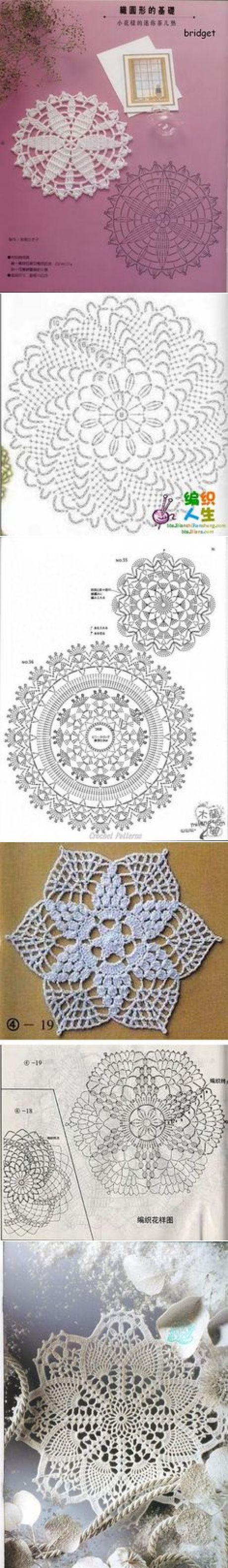 (68) Crochet doilies | Crochet: Doilies,Tablerunners and Tablecloths | Связаные Крючком Салфетки, Doilies и Вязаные Крючком Подставки Под Чашки