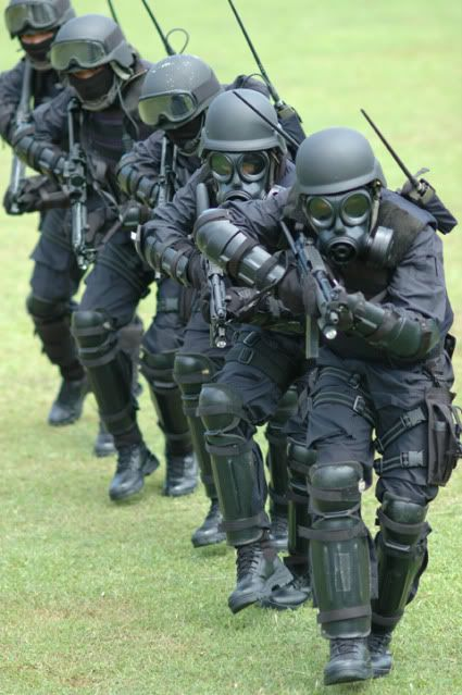 Sat-81 Gultor is Indonesian Army special forces group Kopassus