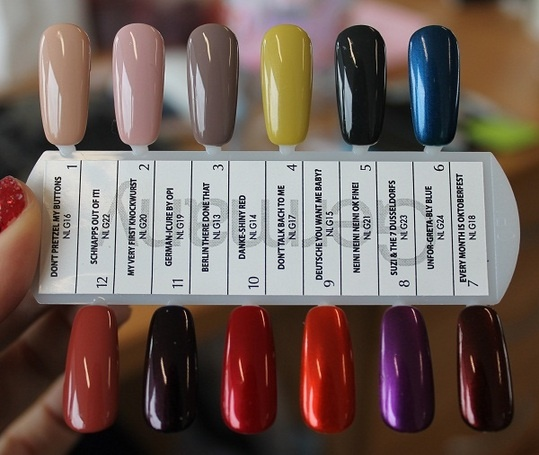 OPI GERMANY COLLECTION - Bing Images | Guilty Pleaures ...