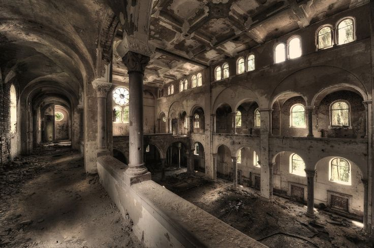 """It's hard to pick a favorite place but one that is very special was an abandoned hotel in Germany. I visited it twice, during winter and during summer."" 