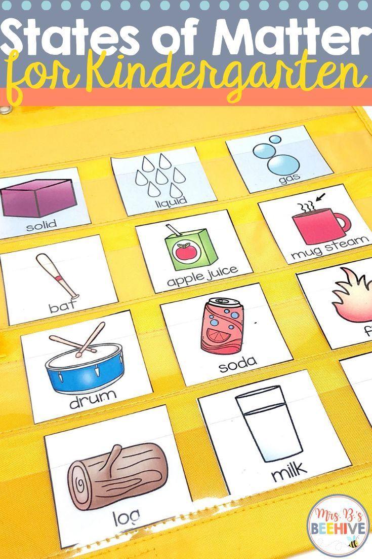 Kindergarten Science Interactive Journals And A Freebie Mrs B S Beehive Kindergarten Science States Of Matter Interactive Science Journal [ 1102 x 735 Pixel ]