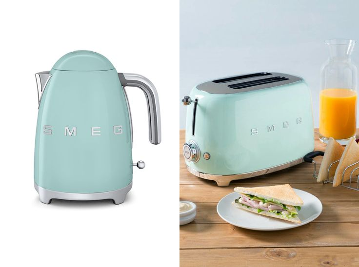 trendy adorably retro pastel appliances from italy with smeg vert d eau. Black Bedroom Furniture Sets. Home Design Ideas