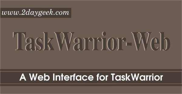 Taskwarrior-Web is a lightweight, Sinatra-based web interface for the wonderful Taskwarrior todo application which was written in ruby.