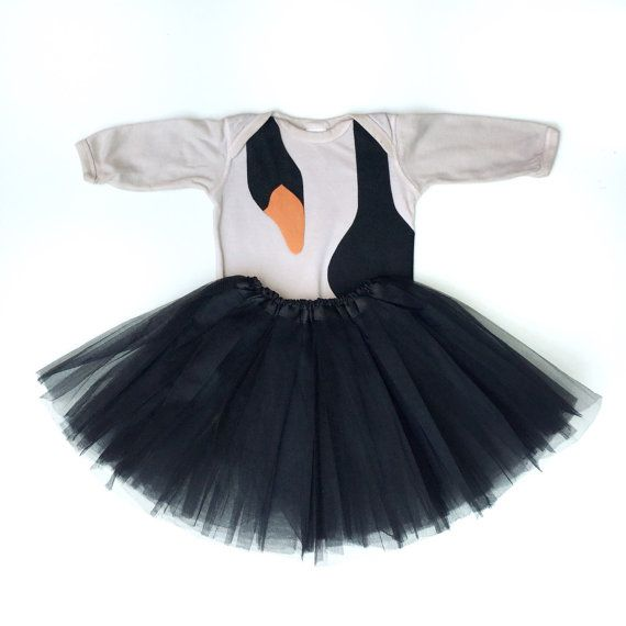 2T Black Swan Costume Baby by TheWishingElephant